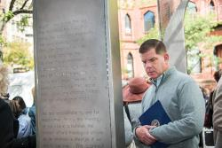 Mayor Marty Walsh. Photo credit Ilene Perlman