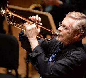 Mark Harvey, trumpeter, band director and jazz legend